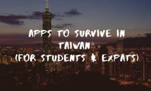 Apps to survive Taiwan Cover Image